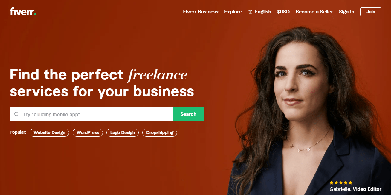 Sign Up as a freelance tester on Fiverr and Make Money Testing Websites